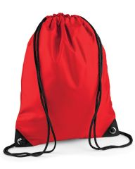 CROSSROADS  PRIMARY SCHOOL RED PREMIUM GYMSACK/SHOEBAG WITH LOGO